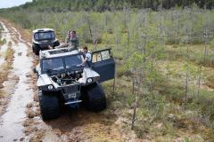 Поездка по болоту