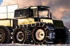 Новые гусеницы 650мм для шин низкого давления Тром 8
